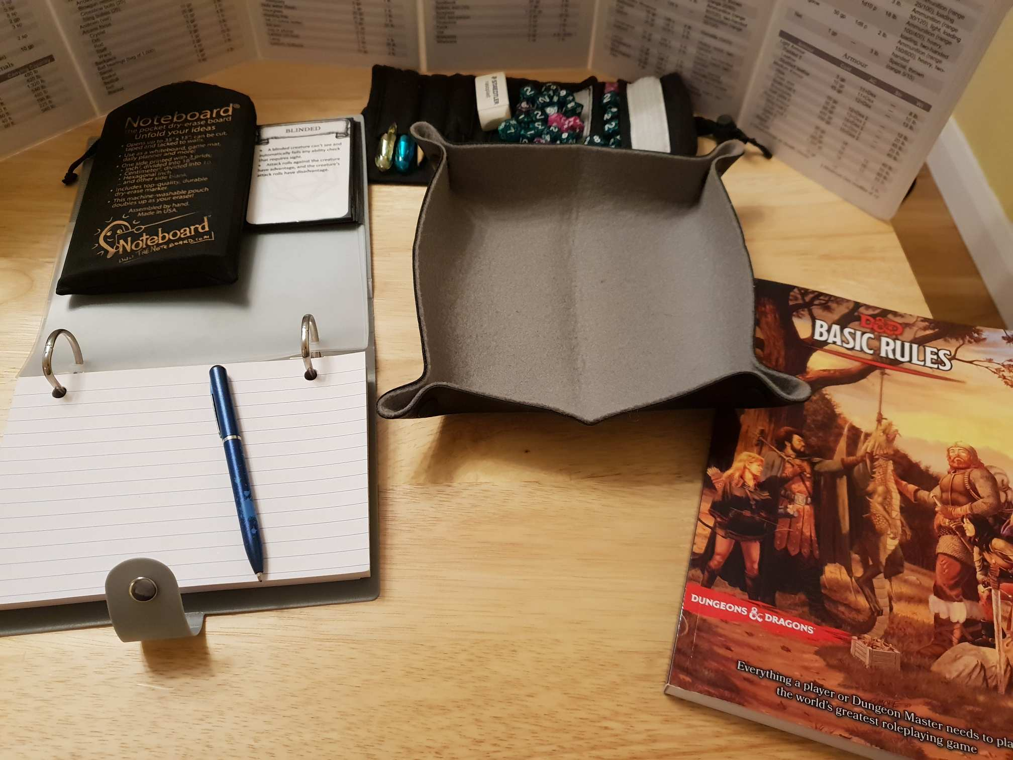 Travelling DM Kit | DnD5e info | The 5th Edition System