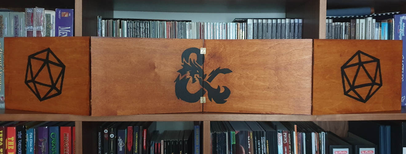 Wooden DM Screen